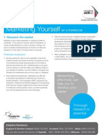 Skillset Factsheet - Marketing Yourself
