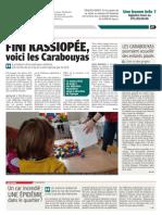 La DH - Fini Kassiopée, voici les Carabouyas - 19.06.13