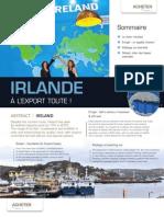 Irlande - A l'Export