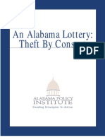 Theft by Consent Alabama Lottery