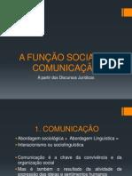 A FUNCAO SOCIAL DA COMUNICACAO (01) aula de produção textual 30-04-13