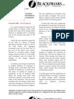 Capital Markets Newsletter Dec08