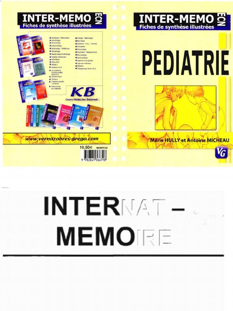 inter memo pediatrie