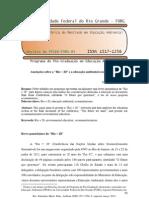 """Anotações sobre a """"Rio + 20"""" e a EA ecomunitarista"""