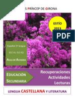 ELE A1-ESTÍO 13 recuperaciones-lecturas-actividades