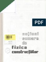 Notiuni Sumare de Fizica Constructilor