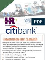 Citibank HRM