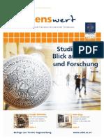 wissenswert Juni 2013 - Magazin der Leopold-Franzens-Universität Innsbruck