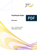 FlexiPacket Microwave Hardware installation guide