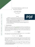 A Comparison of Landau-Ginzburg Models for Odd Dimensional Quadrics