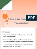 11 - Comunicação sem Fio