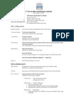 5th VEF Alumni Conference-Tentative Agenda