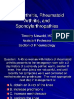 RheumBoardReviewRA OA Arthropathies