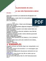 Publicidade Amigos Frpromotora 2013