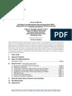The Tomorrow Plan Steering Committee Agenda | January 2011