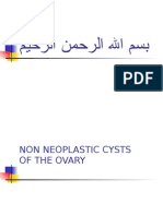 (27) Non Neopl. Cysts