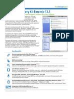 Passware Kit Forensic datasheet