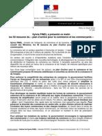 222 - Dossier de Presse - Plan d'Action Pour Le Commerce Et Les Commerants