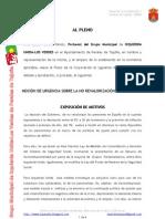 Moción sobre la no revalorización de las pensiones.doc