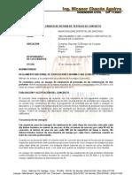 Informe Rotura de Briquetas CORIMACHAHUAINIYOC