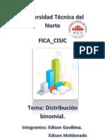 informe Distribución binomial