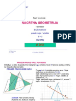 Nacrtna geometrija - Predavanja 2