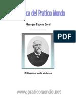 4892152 Georges Eugene SorelRiflessioni Sulla Violenza