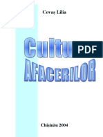 Cultura afacerilor - Covaş Lilia