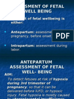 39-Assessment of Fetal Well Being