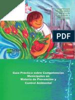 Guía Municipal en Materia de Prevención y Control Ambiental