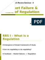Market Failure & Role of Regulation[1]