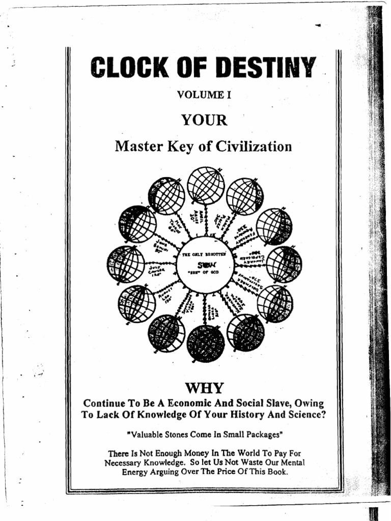 Clock of destiny part 1 2 astrology science buycottarizona