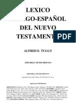 Lexico Griego Espanol