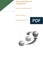 planning types/innovation