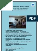 PRIMERAS JORNADAS DE PRÁCTICA FORENSE  MEDIOS INFORMATICOS AL SERVICIO DE LA JUSTICIA