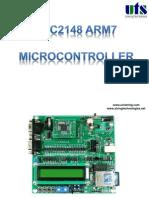LPC2148 ARM7 microcontroller