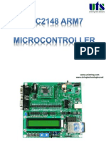 LPC2148 ARM7 microcontroller