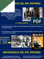 Importancia Del Rol Paterno