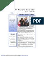 ECF Newsletter June 2013