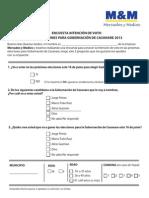 Guion Sondeo Telefonico Elecciones 2013