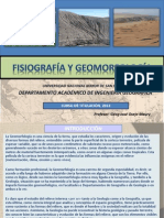 CURSO DE GEOMORFOLOGIA TITULACIÓN IG 2013