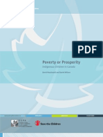 Poverty or Prosperity Indigenous Children