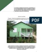 Resumen Ultimo Estudio Linea Base Cabirma-Cenovi