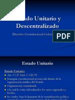 4. Estado Unitario y Descentralizado