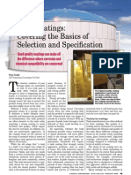 Tank Coatings Covering the Basics of Selection and Specification