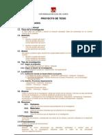 UPN esquema de proyecto de investigaciÃ-³n