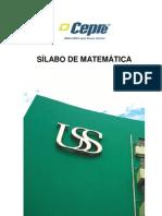 Silabo de Matematica 2012