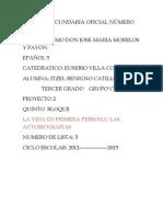PROYEECTO 2 ESPAÑOL