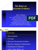 Rules on Electronic Evidence