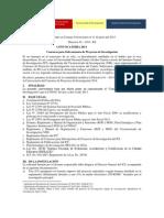 Convocatoria de Py Invest 2013